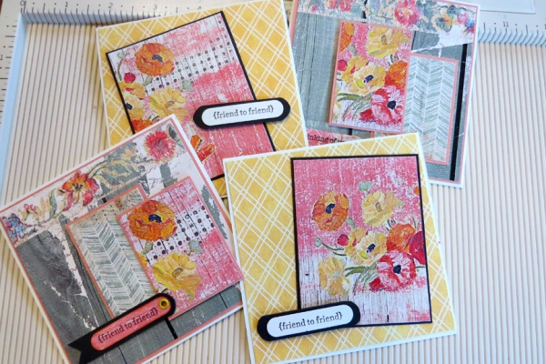 Rustic Appeal Note Cards