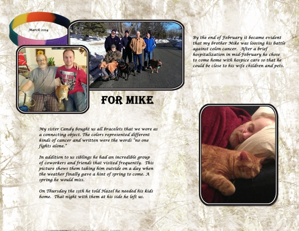 13. Mikes last days