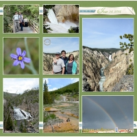 Week 25 June 24 Yellowstone