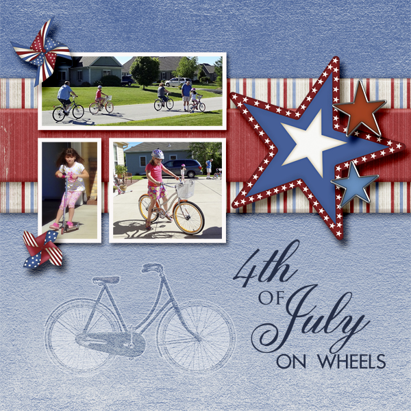 4th of July on Wheels