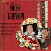 Layout #1 - The Faces of Greyson