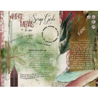 Art Journaling What Scrap Girls Means to Me