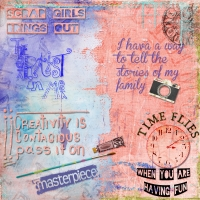 Scrap 10 Art Journaling Web