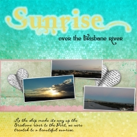 Scrap 10 - Fon-tastic Journalling Chat - Sunrise