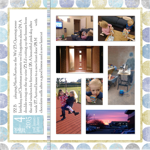 Project Life 2015 week 4