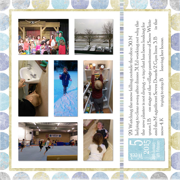 Project Life 2015 week 5