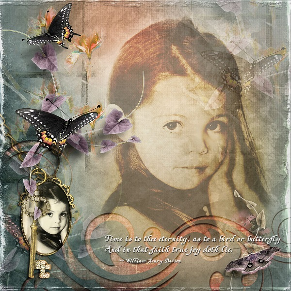 Time is to thee eternity, as to a butterfly