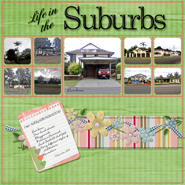 12/11/16 - Life In The Suburbs