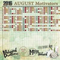 August 2016 Motivators Layout