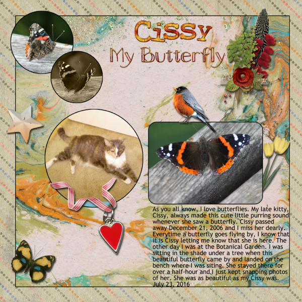 Cissy The Butterfly