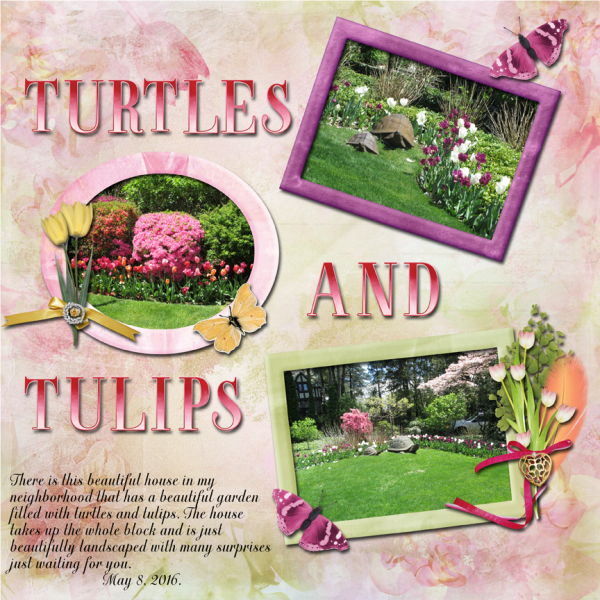 Turtles And Tulips -- Slow Scrap