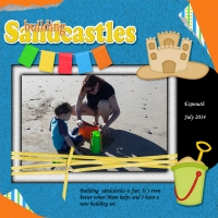 80's Costume Party - Building Sandcastles