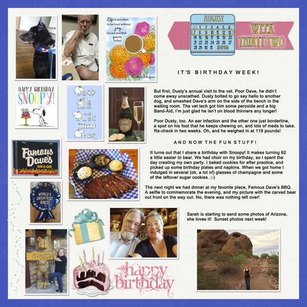 Project Life, week31-2016