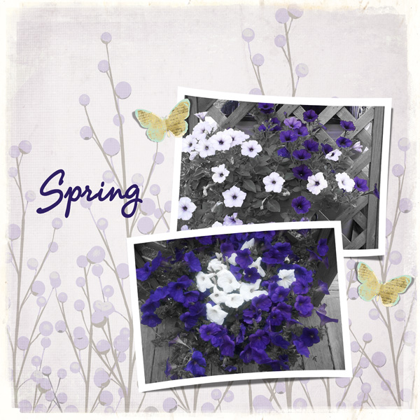 Prompt #1 Layout - Spring