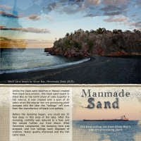 Manmade Sand - Unusual