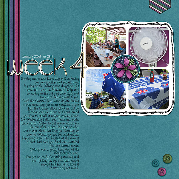 Project Life 2017 Week 4