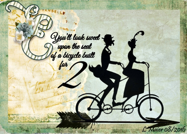 Bicycle built for 2