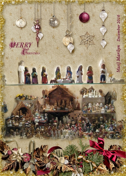 Dec 2015 ATC My Mini Nativty Collection