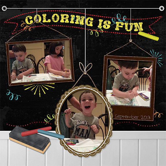 Coloring Is Fun  - 1/4/14 Sat. Color Challenge