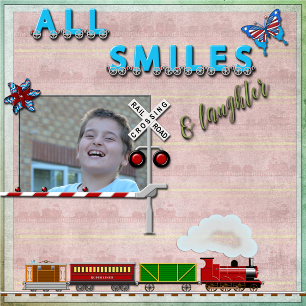 Smile -- May 2016 Swap for Valerie