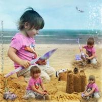 "SwapCrop for Valerie July 2014 ""Beach Kiahna"""