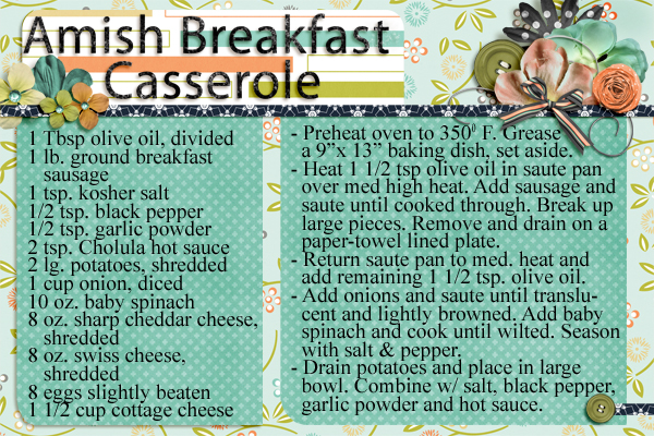Amish Bkfst Cass Page 1