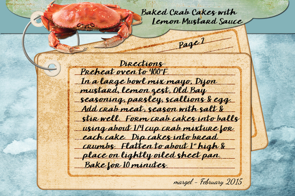BAKED CRAB CAKES WITH LEMON MUSTARD SAUCE - PAGE 2