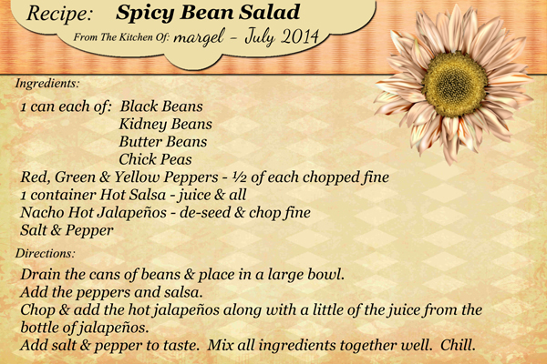 SPICY BEAN SALAD