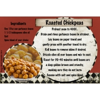 "September 2014 SG Recipe Swap: Snacks - ""Roasted Chickpeas"""