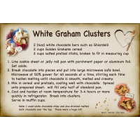 Aug 16 SG Recipe Swap: Snacks -  White Graham Clusters