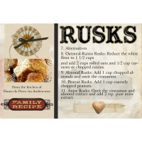 Rusks alternatives