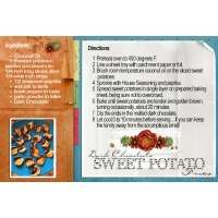 Chocolate & sweet potato fries