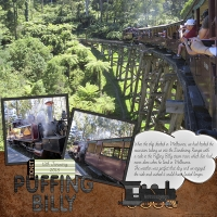 Cruise 2015 - Puffing Billy
