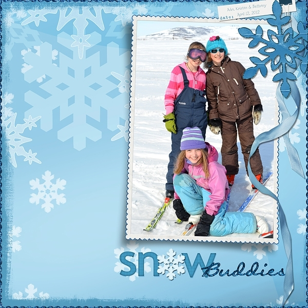 Tuesday Freebie Challenge 4-17-12 -- Snow Buddies
