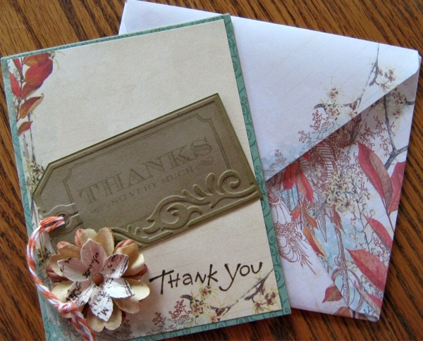 Hybrid Swap/Thank You card for Conda