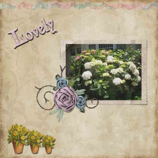 Tuesday 3-8-11 Freebie Challenge -- Ribbon Frame