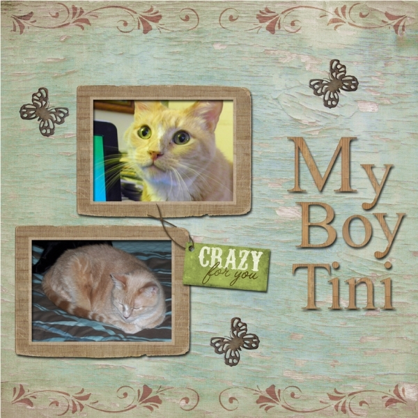 Tuesday 10-23-12 Freebie Challenge -- My Boy Tini