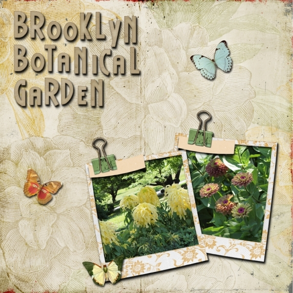 Tuesday 5-1-12 Freebie Challenge -- Brooklyn Botanical Garden