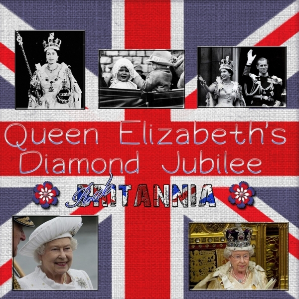 Saturday 6-9-12 Color Challenge -- Queens Diamond Jubilee