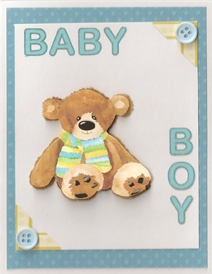 Table Tennis Challenge #2 - Baby Boy Greeting Card