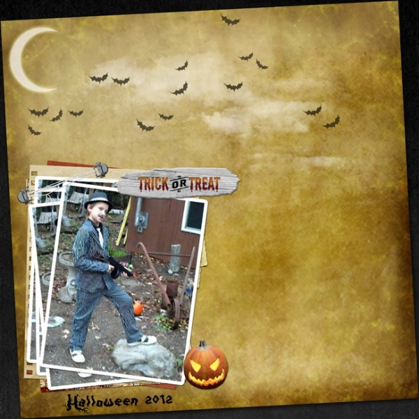 DSD - Scraplift Challenge - Halloween 2012
