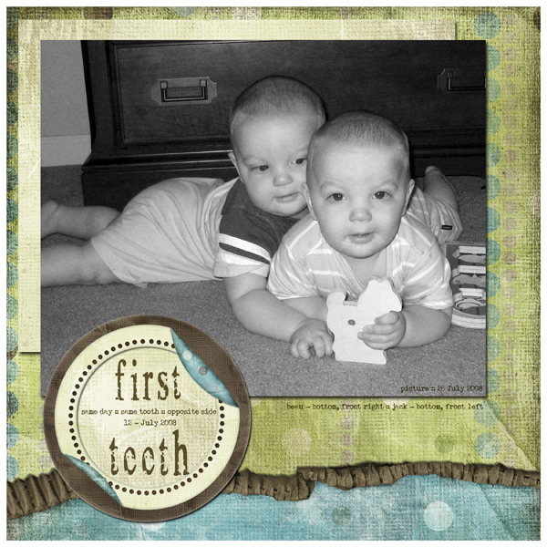 First Teeth