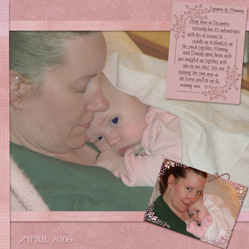 Synoma & Mommy April 2006