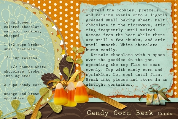 Candy Corn Bark Sept 2012 Swap