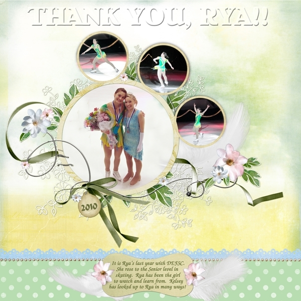 Thank-you, Rya!