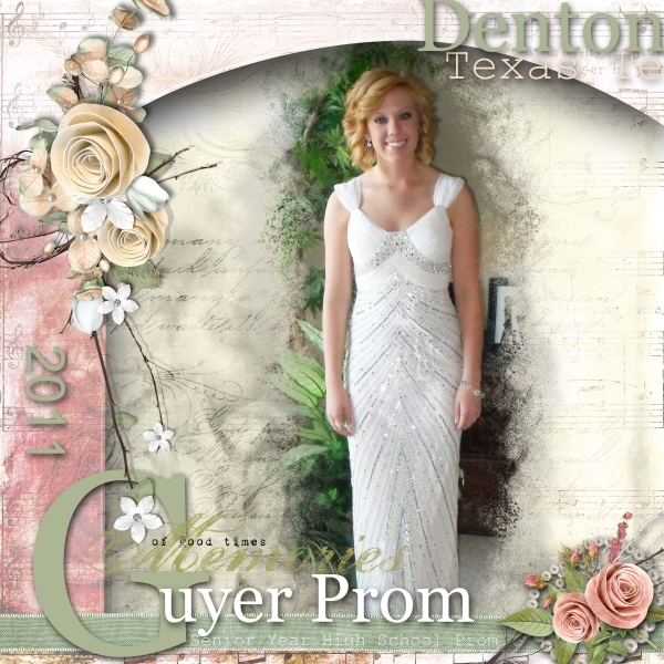 Updated Version of Prom Layout