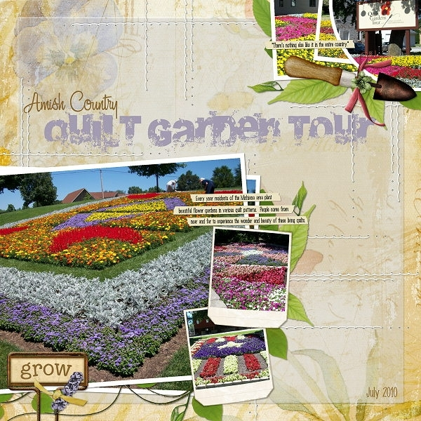 Amish Country Quilt Garden Tour