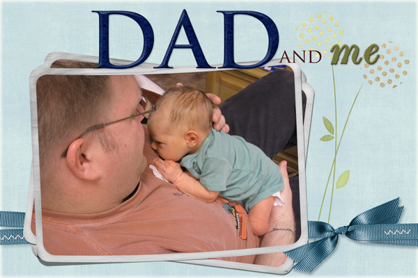 Alistair and Dad