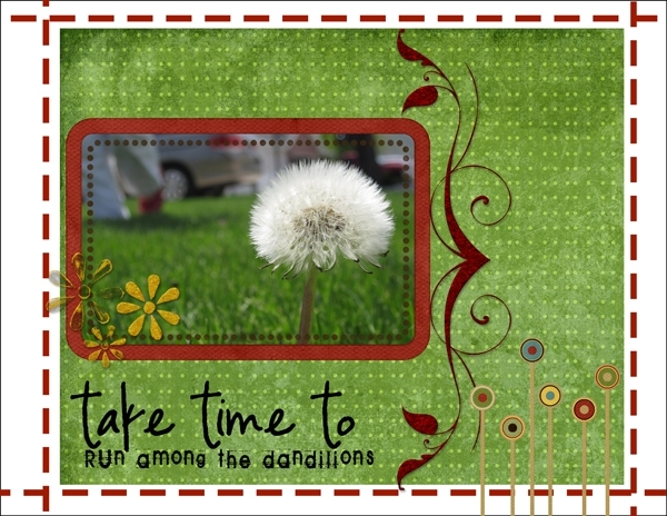 Run among the Dandelions