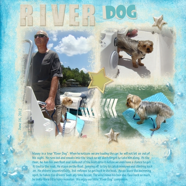 Monday Challenge-River Dog